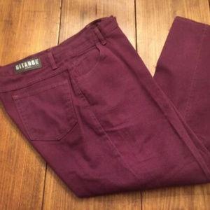 Vintage 90s Gitano High Waist Mom Jeans Tapered Bu